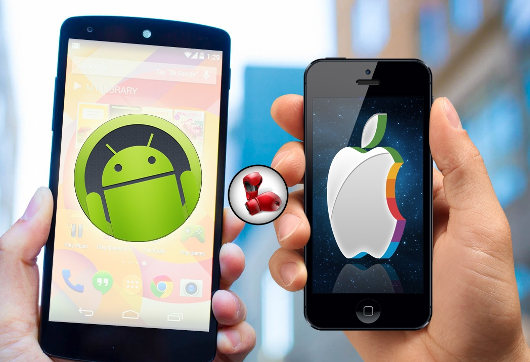 Battle of the Giants: Who is winning Android or iOS? - Mobile App Development Services   Web Development services
