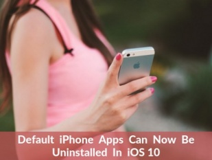 Default iPhone Apps Can Now Be Uninstalled In iOS 10