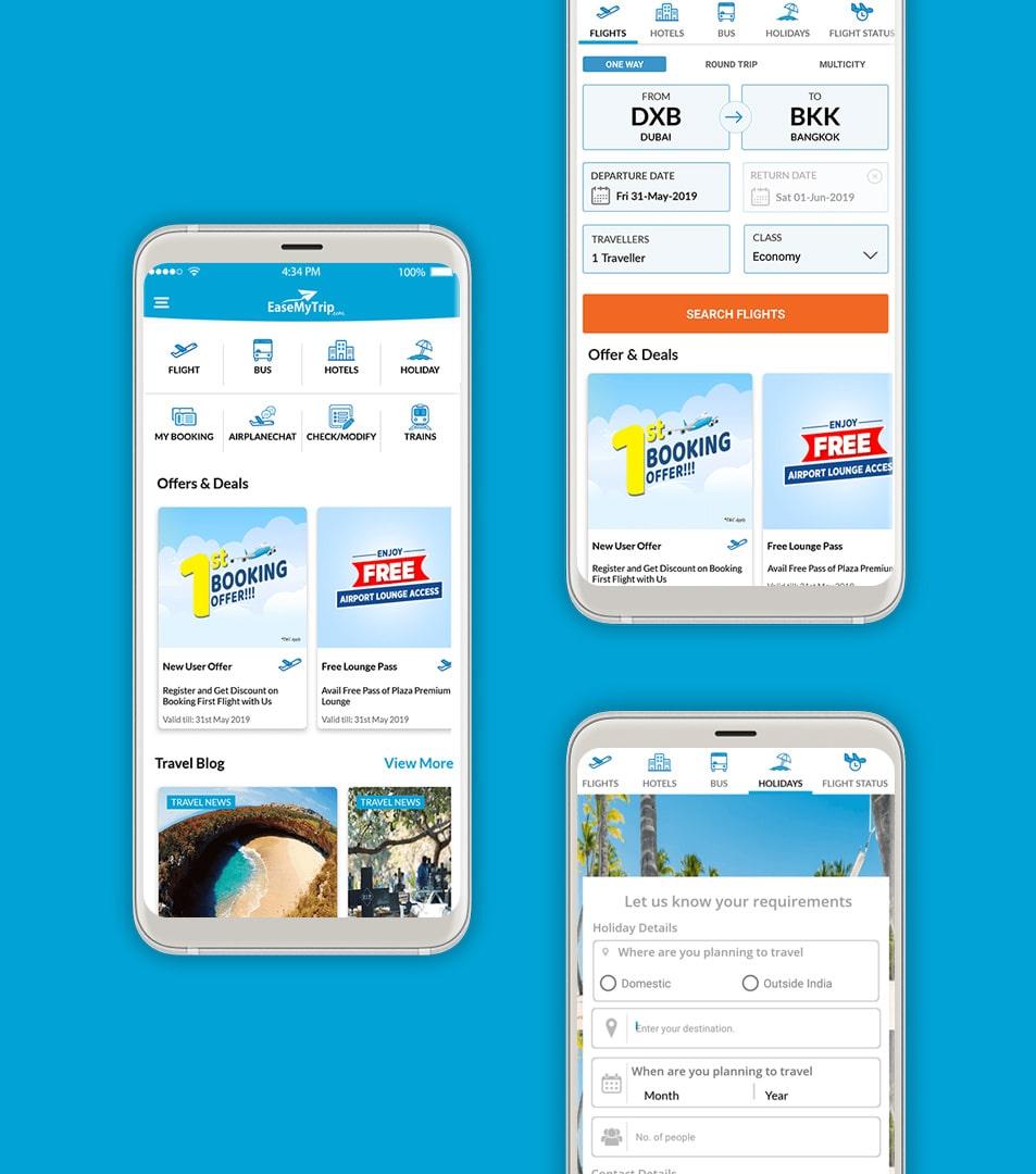 EaseMyTrip App