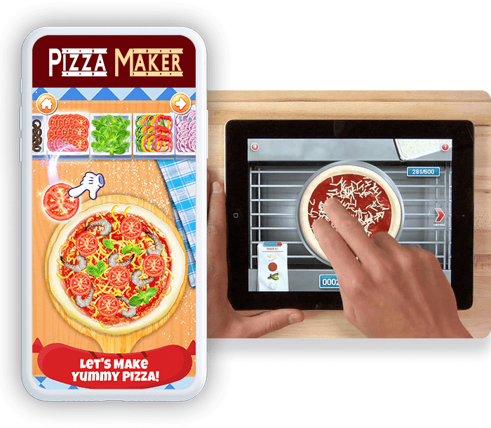 Pizza Maker VR Game