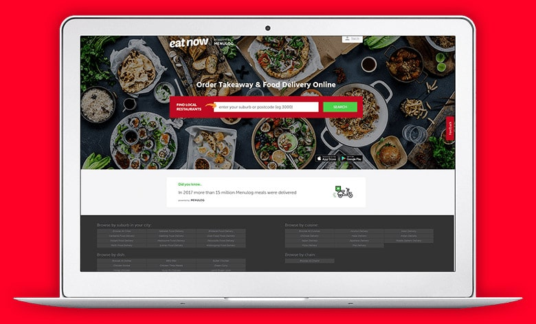 EatNow Screen PC