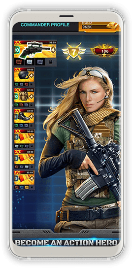 Mobile Strike Screen 1