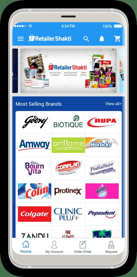 RetailerShakti Screen 2