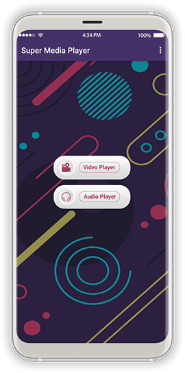 Super Media Player Screen 1