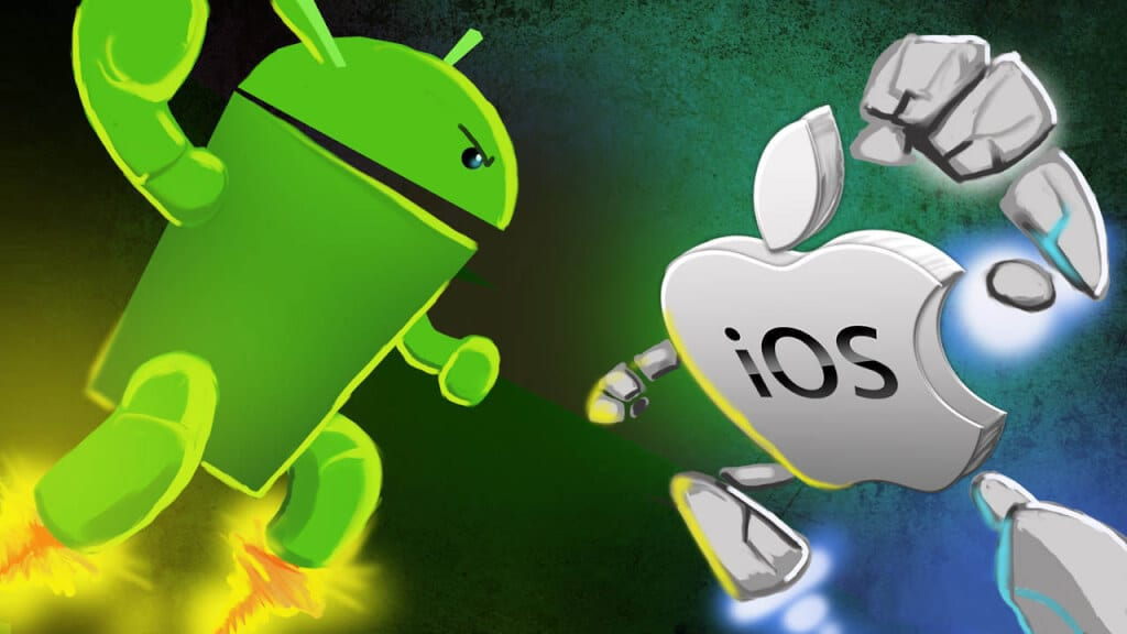 Battle of the Giants: Who is winning Android or iOS?