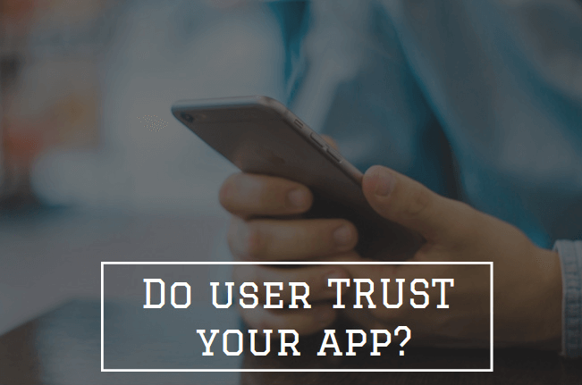 User application trust