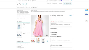 shopnine web app