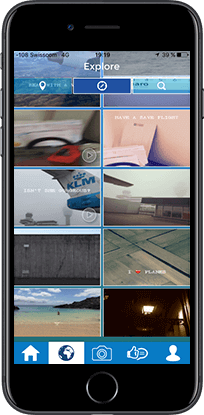 aerogram mobile app explore
