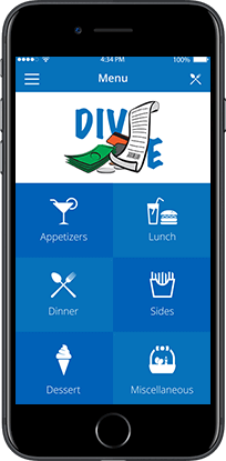 dive smartphone app