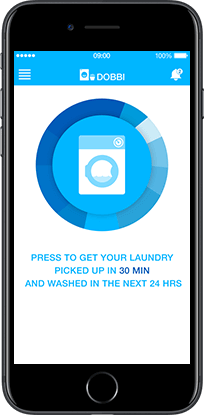 dobbi laundry mobile app