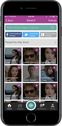 heari mobile application