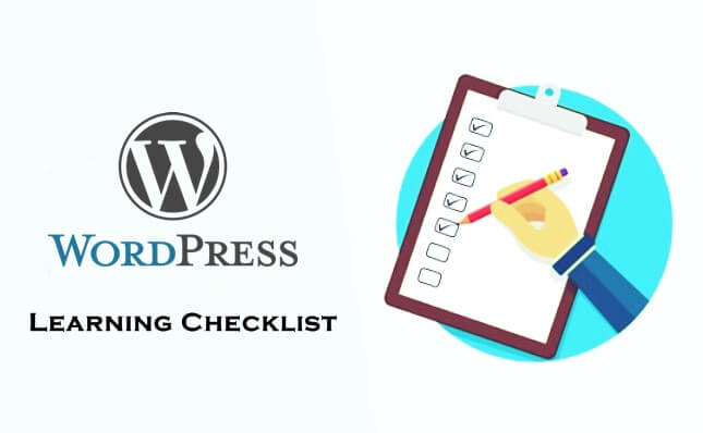 Tips to learn WordPress