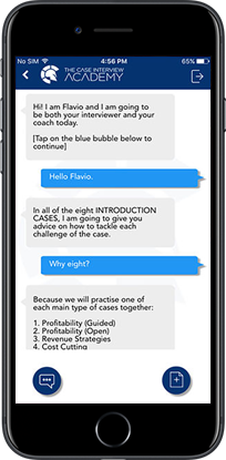 case interview academy iOS application