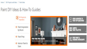 how to segment website section