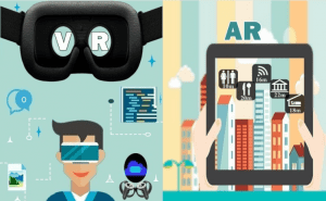 difference between augmented reality and virtual reality