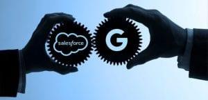 salesforce google partenrship