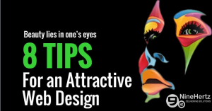 tips for web design infographic