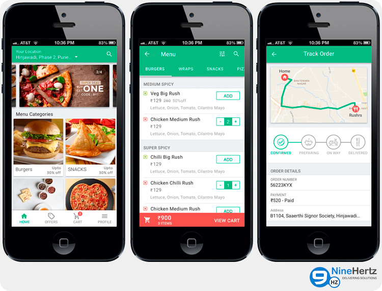 On-Demand Food Delivery Apps
