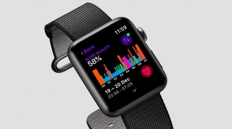 sleep tracking on apple watch 4