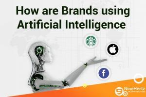How are Brands using Artificial Intelligence | Infographic