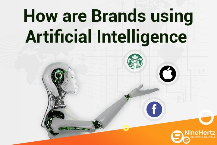 How are Brands using Artificial Intelligence   Infographic