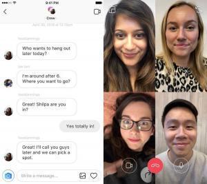 facebook f8 instagram videochat