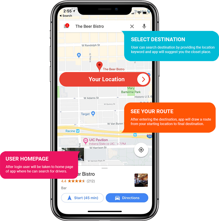On Demand App Development Company | Delivery Tracking Apps