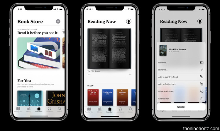 top ios 12 features apple books