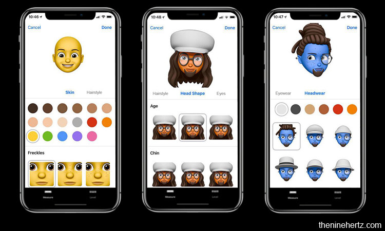 top iOS 12 features Memojis and Animojis