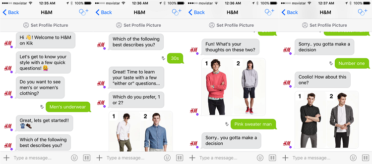 Artificial Intelligence Impacting E-Commerce H & M