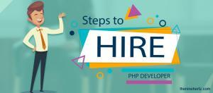 how hire php developer steps