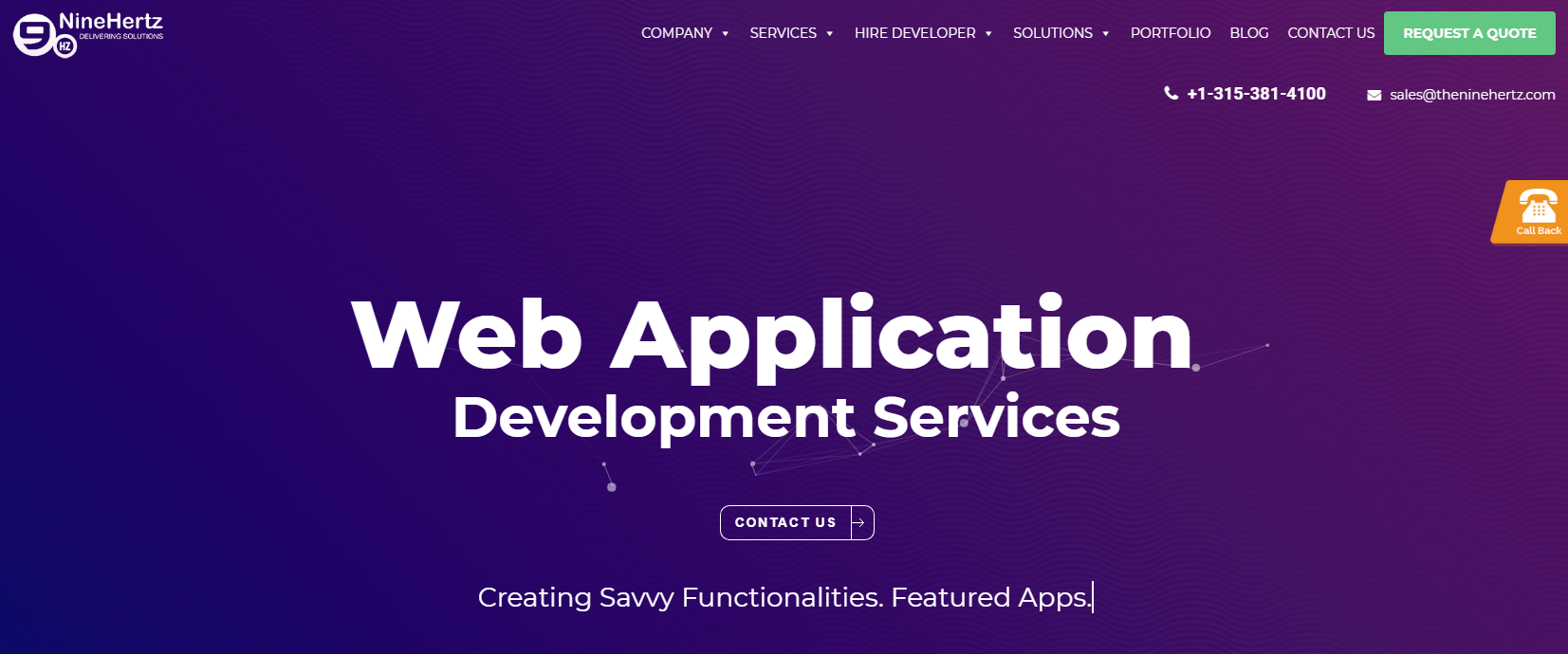 theninehertz web development company