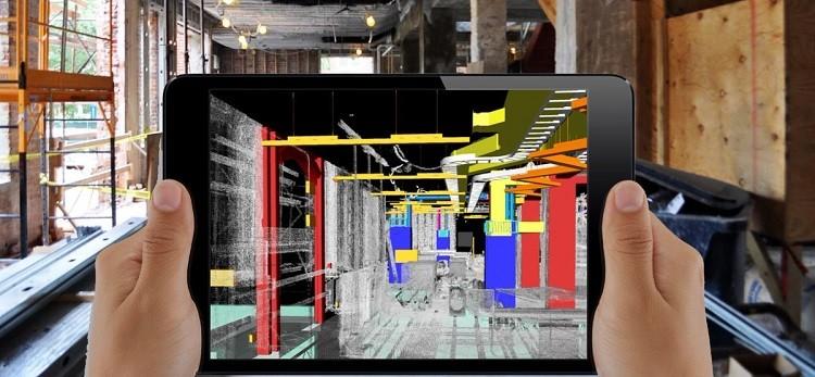 construction technology ar plan modification