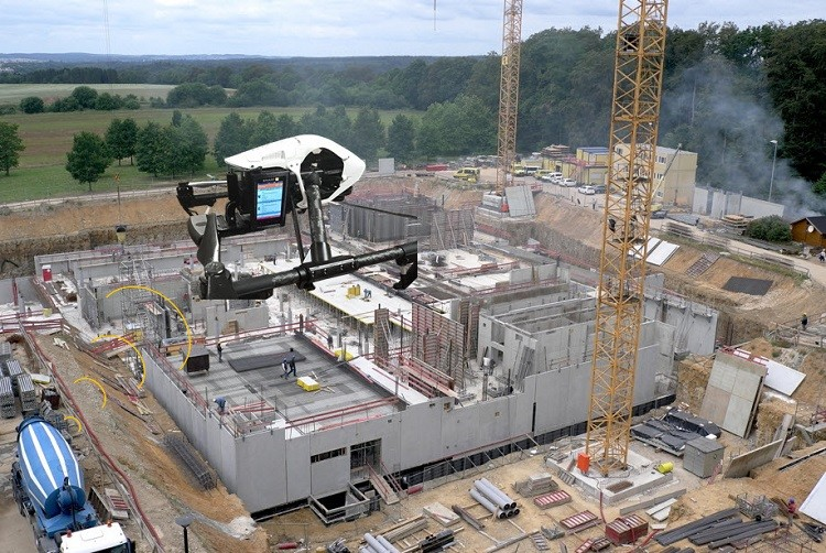 construction technology drone survey