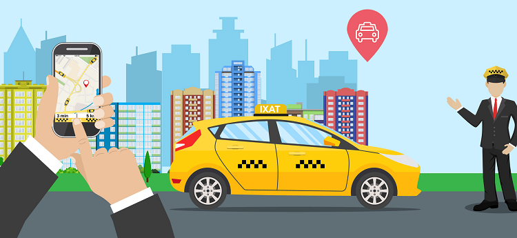 on-demand apps cab services