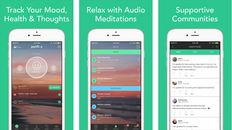 anti-anxiety apps pacifica