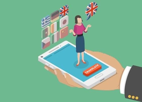 City Guide App language translator feature