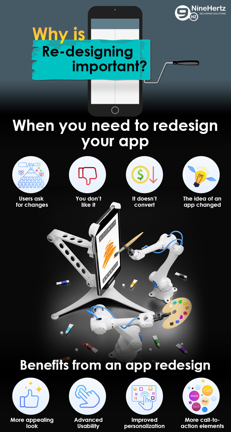 why redesign app is important