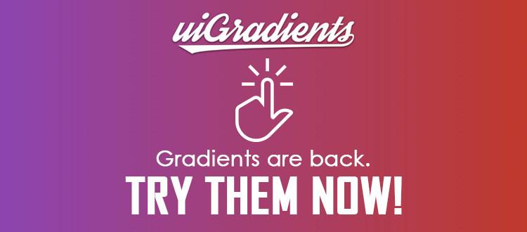 ui design app gradients