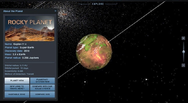 exoplanet nasa apps