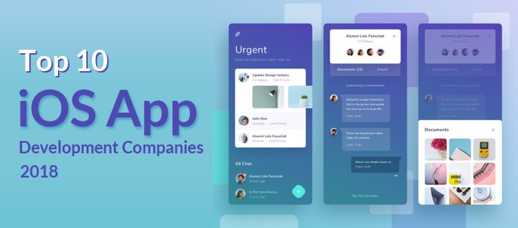 Top 10 iOS App Development Companies 2018-2019