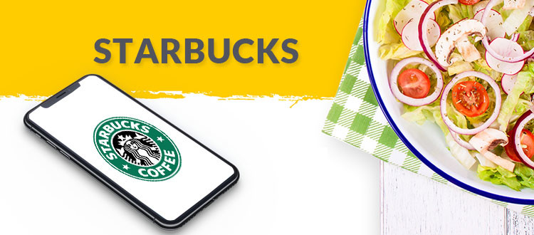 starbucks food apps