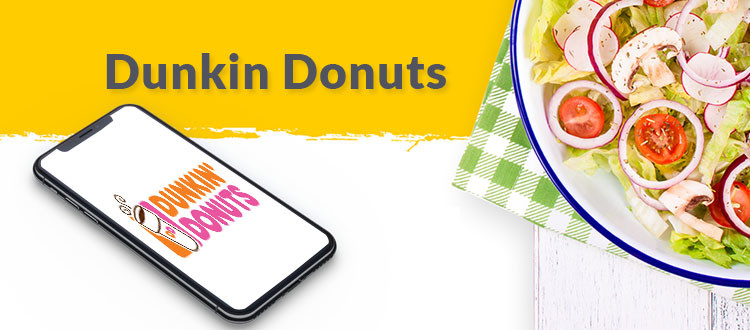 top 7 food apps dunkin donuts