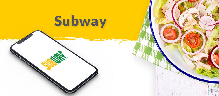 subway foodie app
