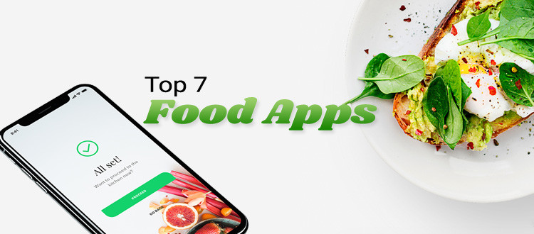 Top 7 Food apps in USA Market