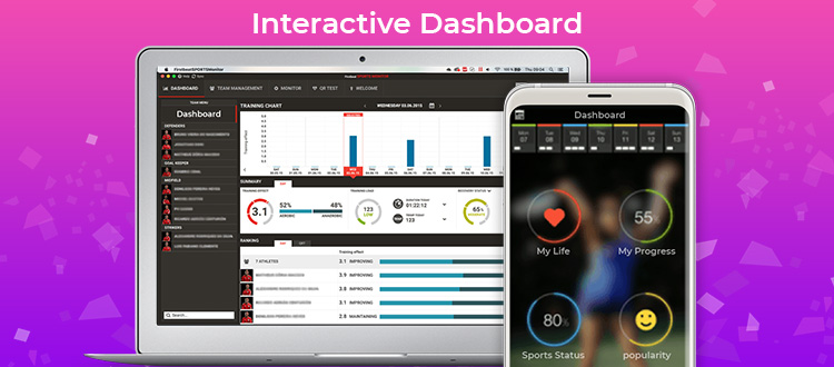 Interactive-Dashboard Sports App