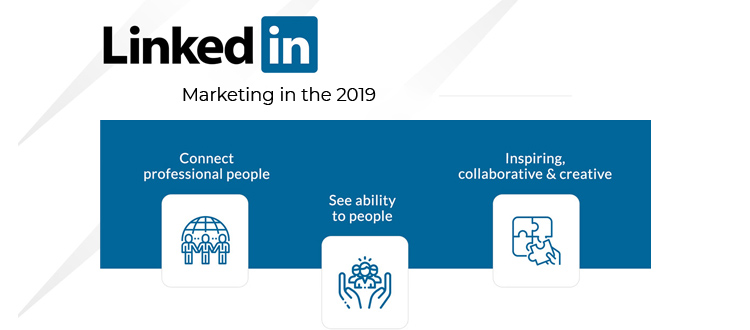 Different ways companies can use LinkedIn for marketing in the year 2019