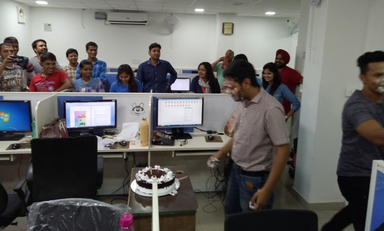 Employee Birthday Celebration