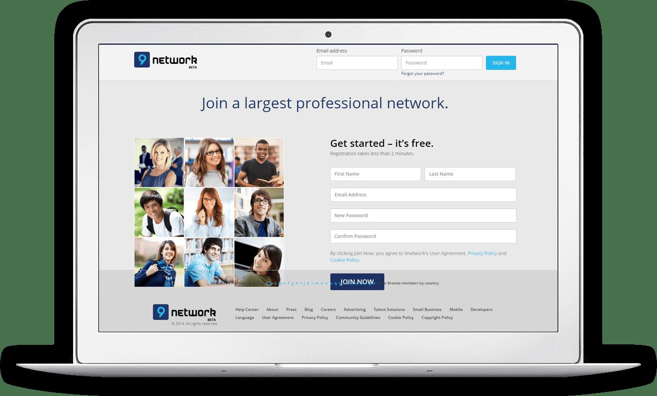 LinkedIn clone pc