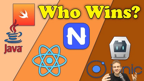React Native vs Ionic vs NativeScript vs Android/ iOS Native Apps